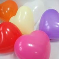 balon kolorowe serca